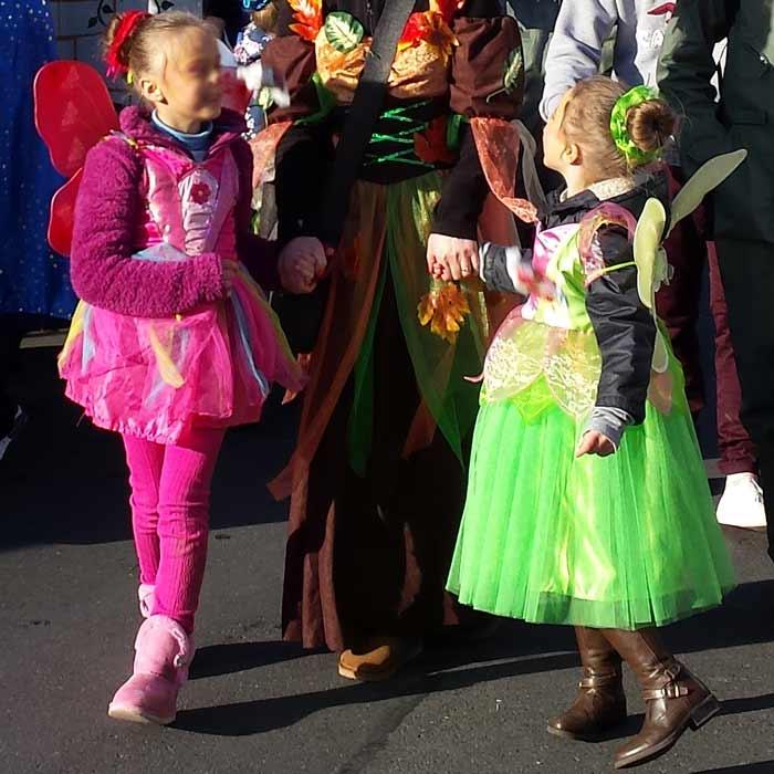 Kinderverkleidungen, Prinzessin-Kleid